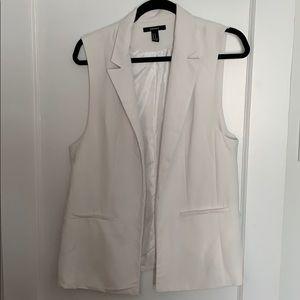 Forever 21 sleeveless blazer / vest.